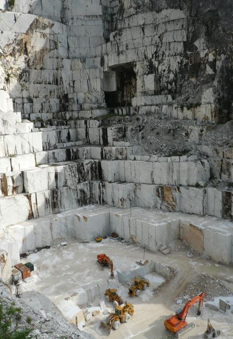 Carrarai márvány bánya